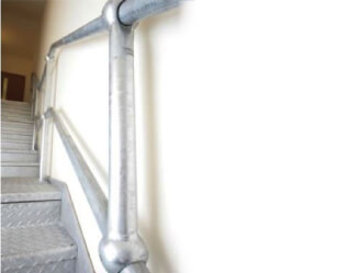 metal handrail standards and fittings manufacturer Bristol South West UK